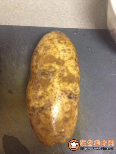 原味海盐烤土豆的家常做