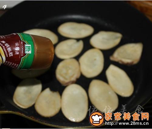 黑椒煎杏鲍菇的做法图解4