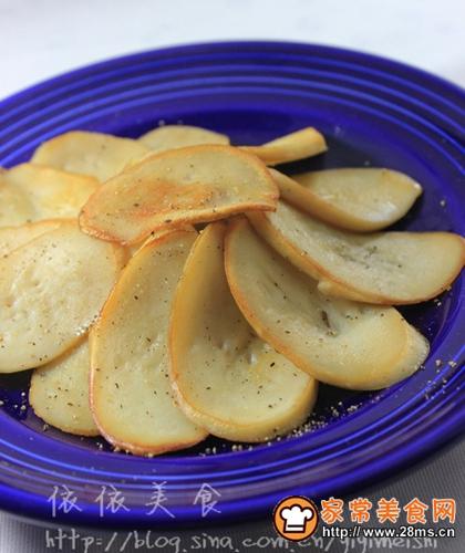 黑椒煎杏鲍菇的做法图解5