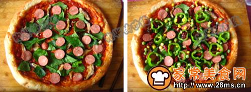 椰香馕披萨的做法图解2
