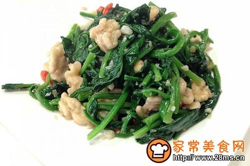 核桃仁菠菜