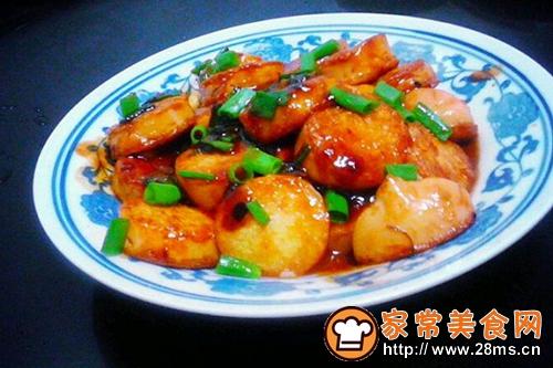番茄酱炒樱玉豆腐