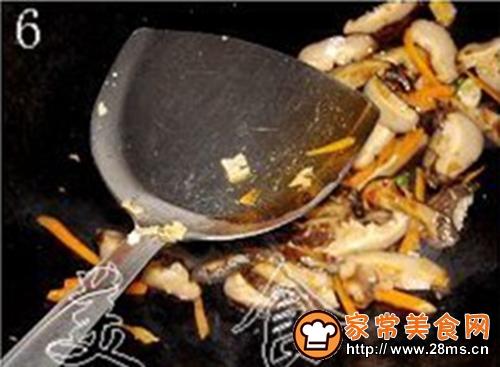 冬菇炒豆腐干的做法图解6