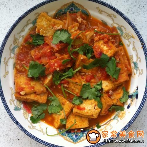 西红柿豆腐的家常做法