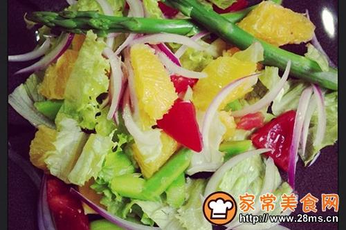 香橙芦笋沙拉