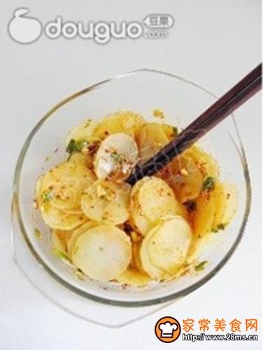 呛拌土豆片的做法图解6