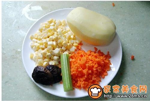 杂蔬丸子的家常做法