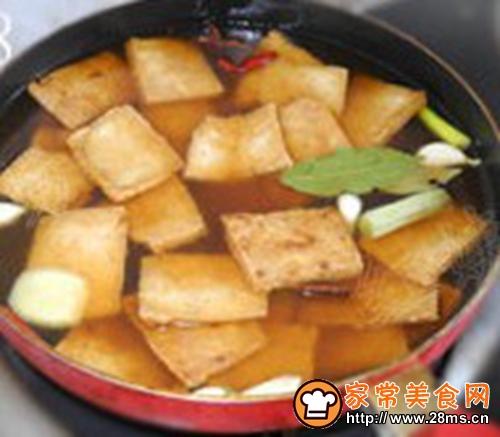 香辣豆腐干的做法图解2