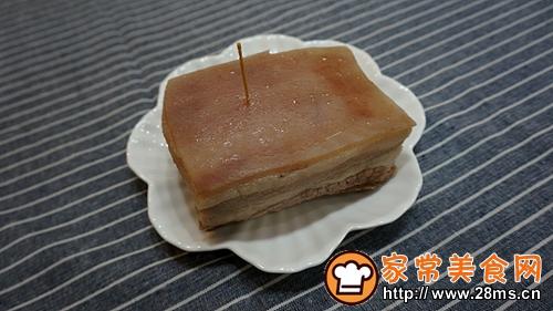 梅干菜扣肉的做法图解5