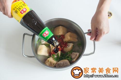 油豆腐塞肉的做法图解4