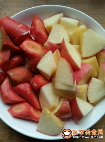 苹果银耳瘦肉汤的做法图解3