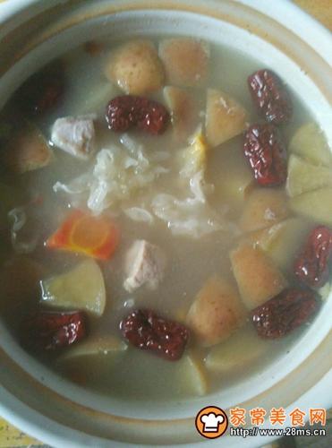 苹果银耳瘦肉汤的做法图解6