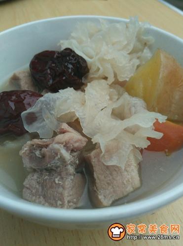 苹果银耳瘦肉汤的做法图解8