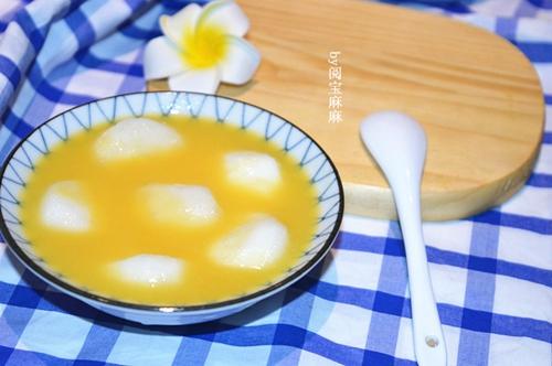 橙汁马蹄的做法图解6