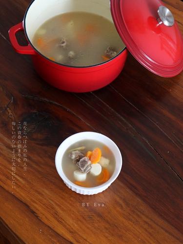 排骨山药汤 的做法图解7