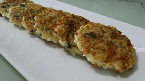 海苔金枪鱼米饼的做法图解7