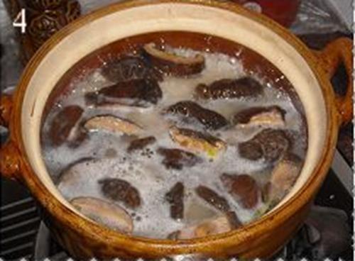 香菇滑鸡煲仔饭的做法图解4