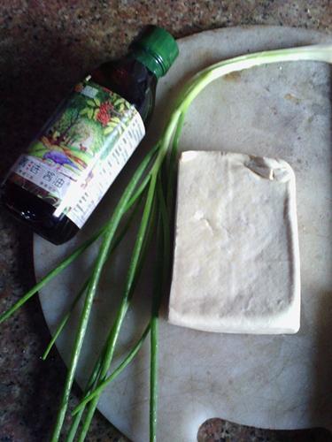香煎豆腐的家常做法 _2