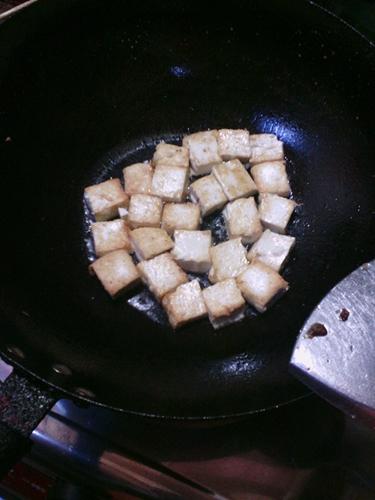 香煎豆腐的做法图解4