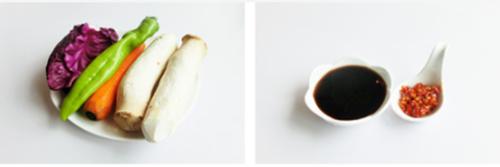 三丝杏鲍菇的家常做法