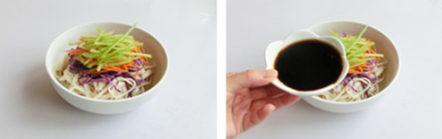 三丝杏鲍菇的做法图解4