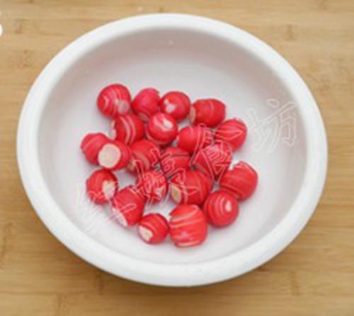 糖醋樱桃萝卜的家常做法