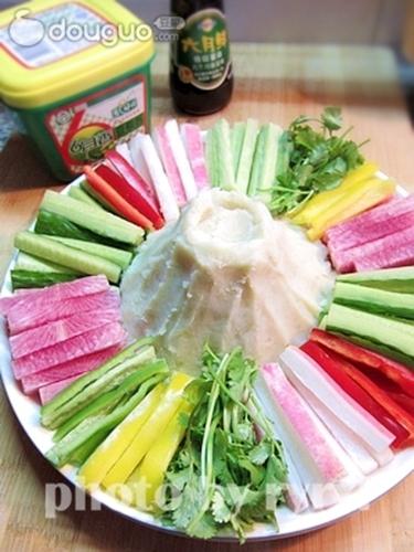 大团圆酱香时蔬土豆泥的做法图解4