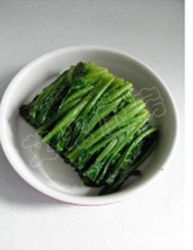 姜蒜香汁菠菜的做法图解8