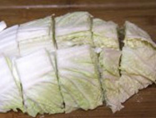 酸辣白菜片的家常做法