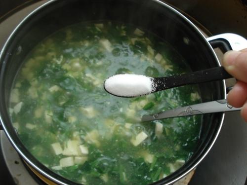 豌豆头豆腐羹的做法图解8