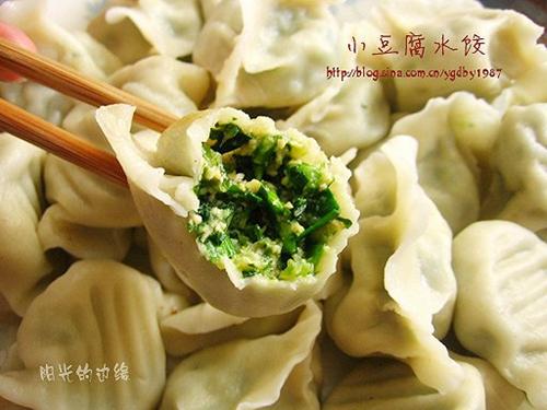 小豆腐水饺