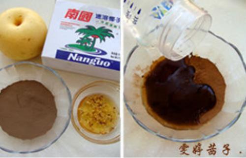 桂花梨汁龟苓膏的家常做法