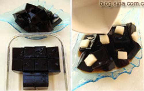 桂花梨汁龟苓膏的做法图解3
