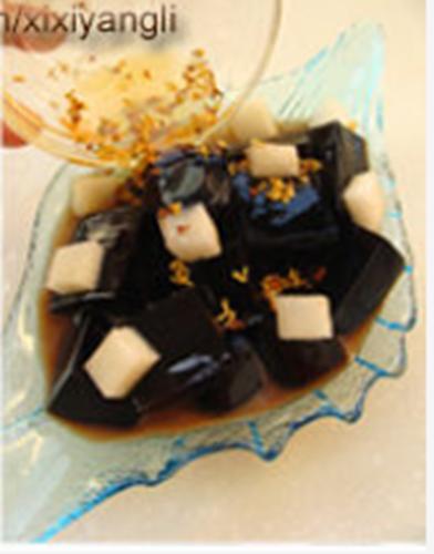 桂花梨汁龟苓膏的做法图解4