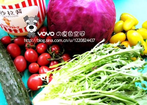 蔬菜沙拉的家常做法 _1