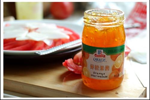 橙汁番茄山药的做法图解4
