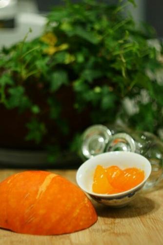 咸蛋黄南瓜的家常做法