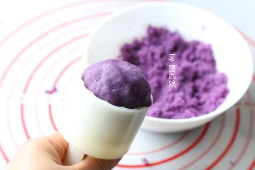 紫薯月饼的做法