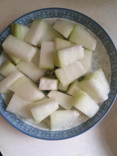 红烧排骨冬瓜的做法图解2