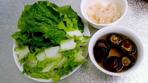 虾仁豆腐杂货锅的做法图解3