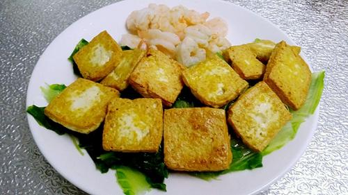 虾仁豆腐杂货锅的做法图解7