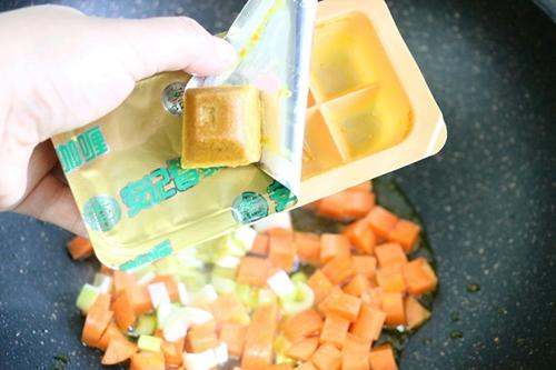 养生咖喱杂蔬的做法图解8