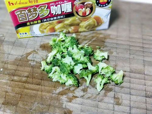 咖喱虾仁炒饭的做法图解4