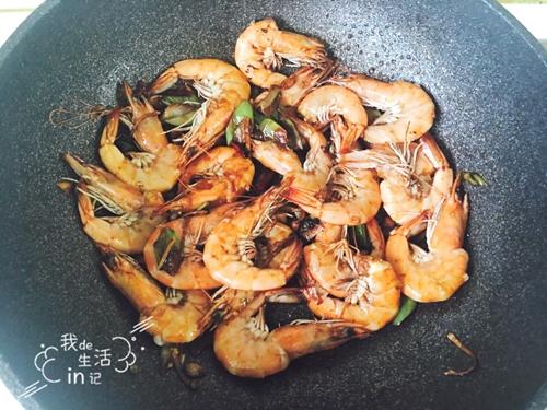 油焖大虾的做法图解8