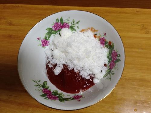 茄汁脆皮虾球的做法图解5