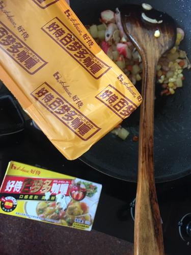 海鲜咖喱饭的做法图解9