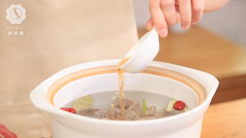 枸杞山药牛肉汤的做法图解6