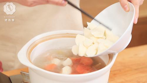 枸杞山药牛肉汤的做法图解8