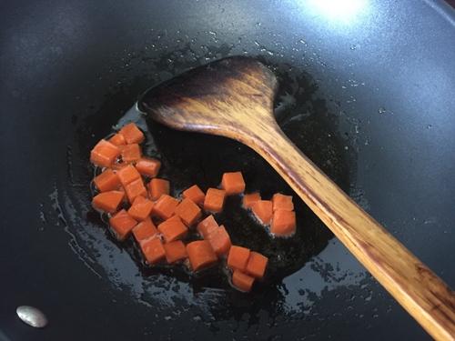 板栗咖喱鸡肉蒸饭的做法图解5