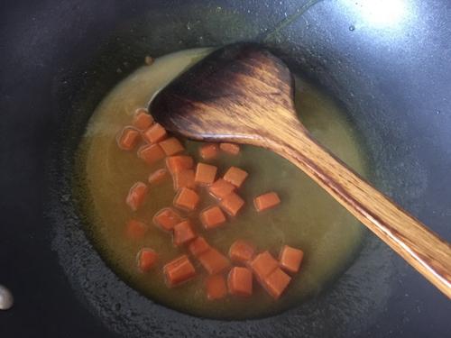 板栗咖喱鸡肉蒸饭的做法图解7